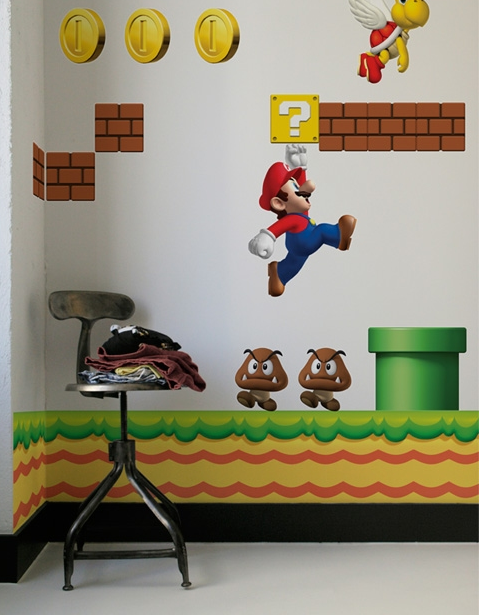 Stickers Mario 1